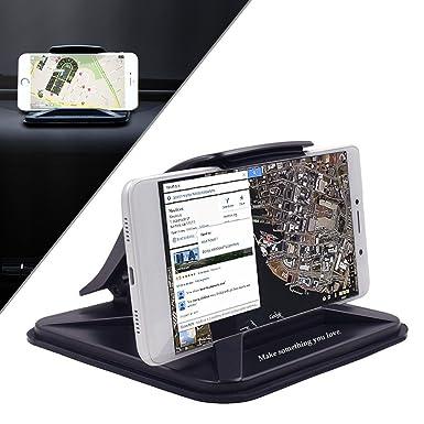 Teléfono Móvil Soporte de coche soporte para salpicadero de coche, cuna base dock para iPhone 7 ...