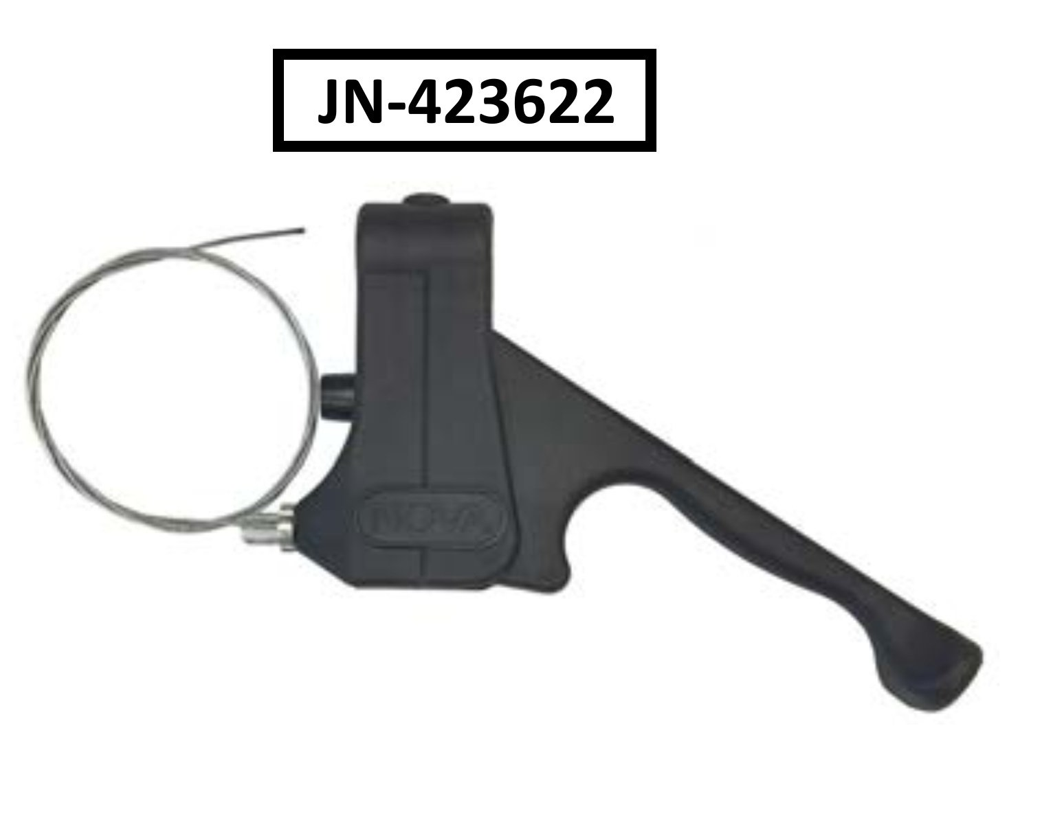 Nova Replacement Parts for Vibe Rolling Walker with Serial Number JN - Hand Brake with Cable-Set - JN-423622