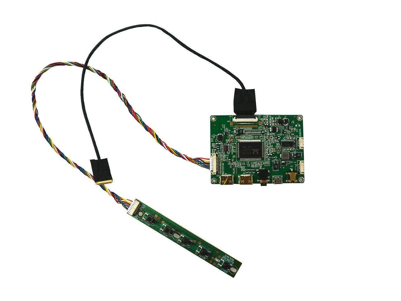 NJYTouch Mini HDMI Micro USB LCD Controlador Placa para N156HHE-GA1 120Hz EDP LED Pantalla