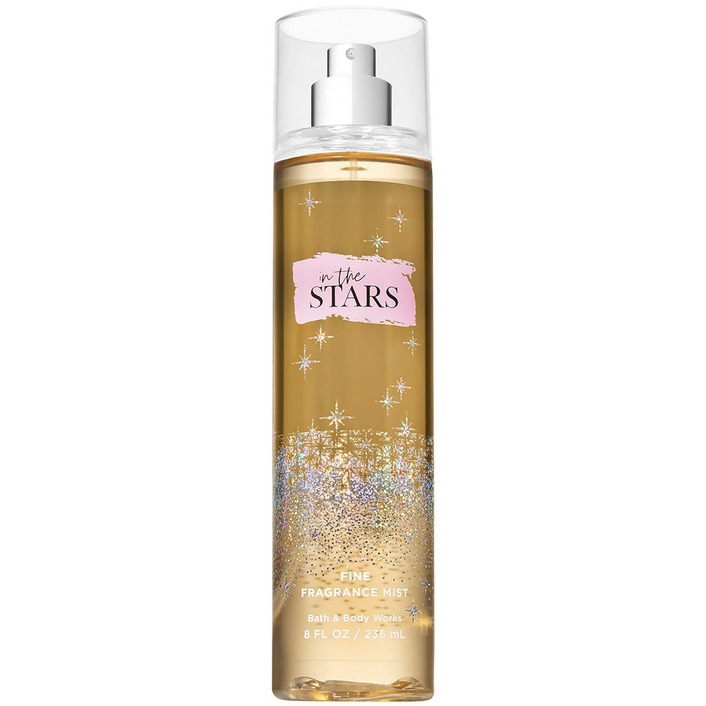 Bath and Body Works in The Stars Fine Fragrance Mist (Limited Edition) 8 Fluid Ounce, clear
