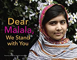 Dear Malala, We Stand with You by [McCarney, Rosemary]