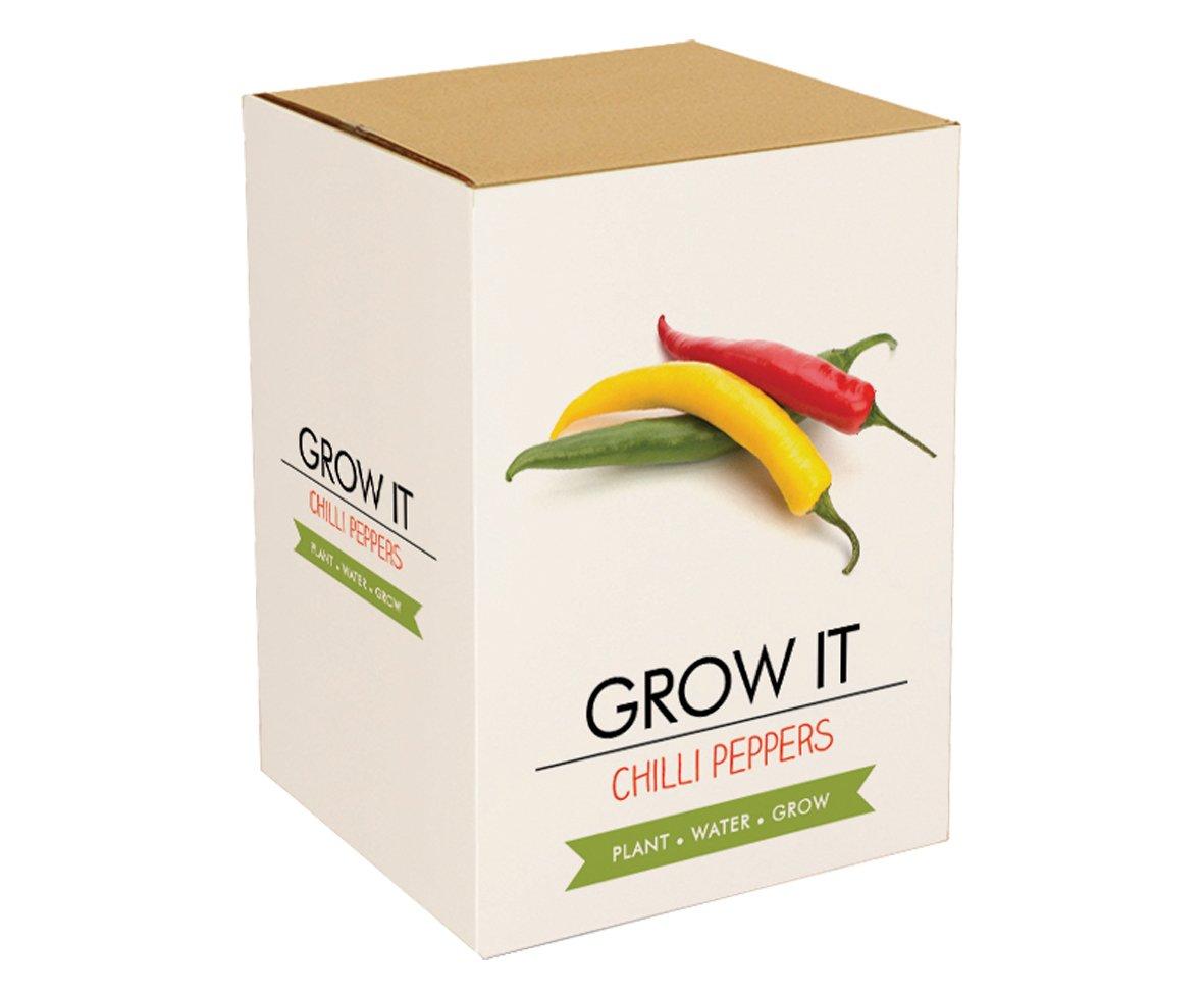 Gift Republic Grow It Geschenkset Chili-Pflanzset GR200009