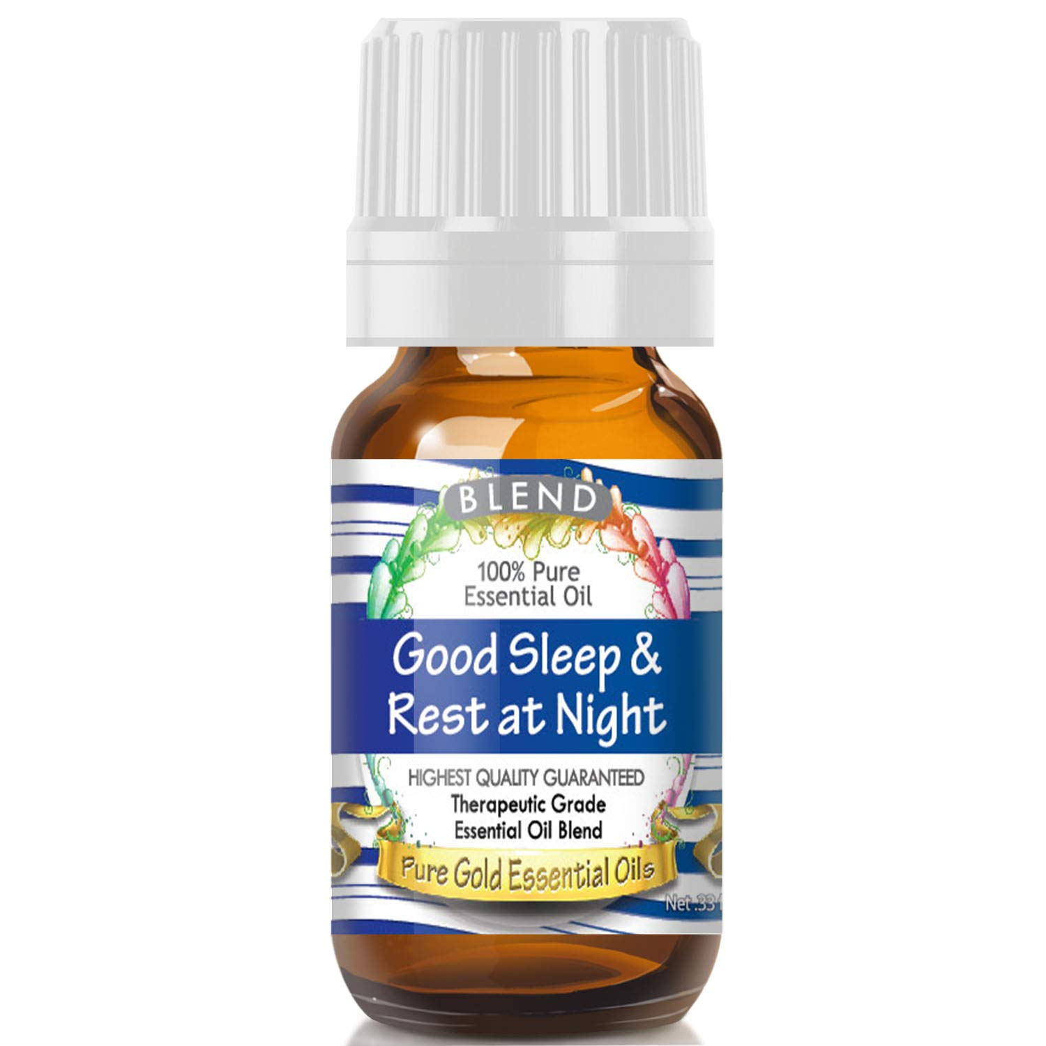 Good Sleep & Rest at Night Blend Essential Oil (100% Pure, Natural, UNDILUTED) 10ml - Best Therapeutic Grade - Perfect for Your Aromatherapy Diffuser, Relaxation, More! essential oil diffuser Essential oil diffuser review – Best choices and how they work 61fGfgHpqsL