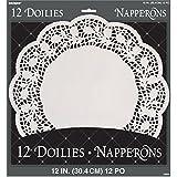 papstar 18270  Papstar 18270 Paper Doily Round ø 30 cm Pack of 250 White: Amazon.co ...