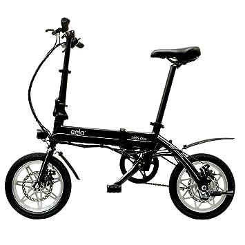 76a850511e6 eelo 1885 Disc Folding Electric Bike-Lightweight Portable Convenient To  Store In Caravan, Motor