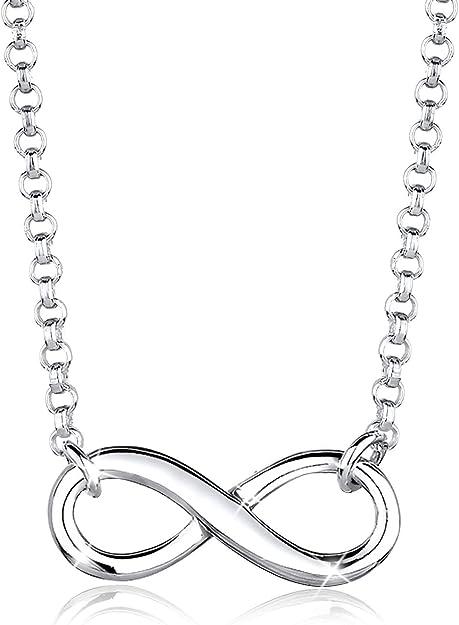 collier ras de cou symbole infini