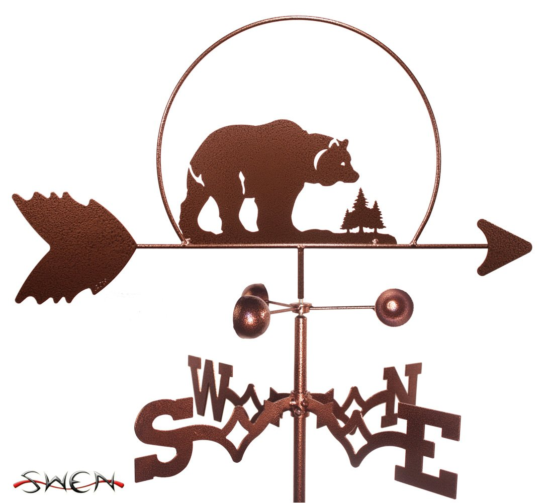 Hand Made Bear and Cub Weathervane *NEW*