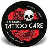 Tattoo Care Ointment with Natural Ingredients, Black Rose - 1.23 Oz Moisturizing Cream, Tattoo Brightener Balm, Enhances Tatt