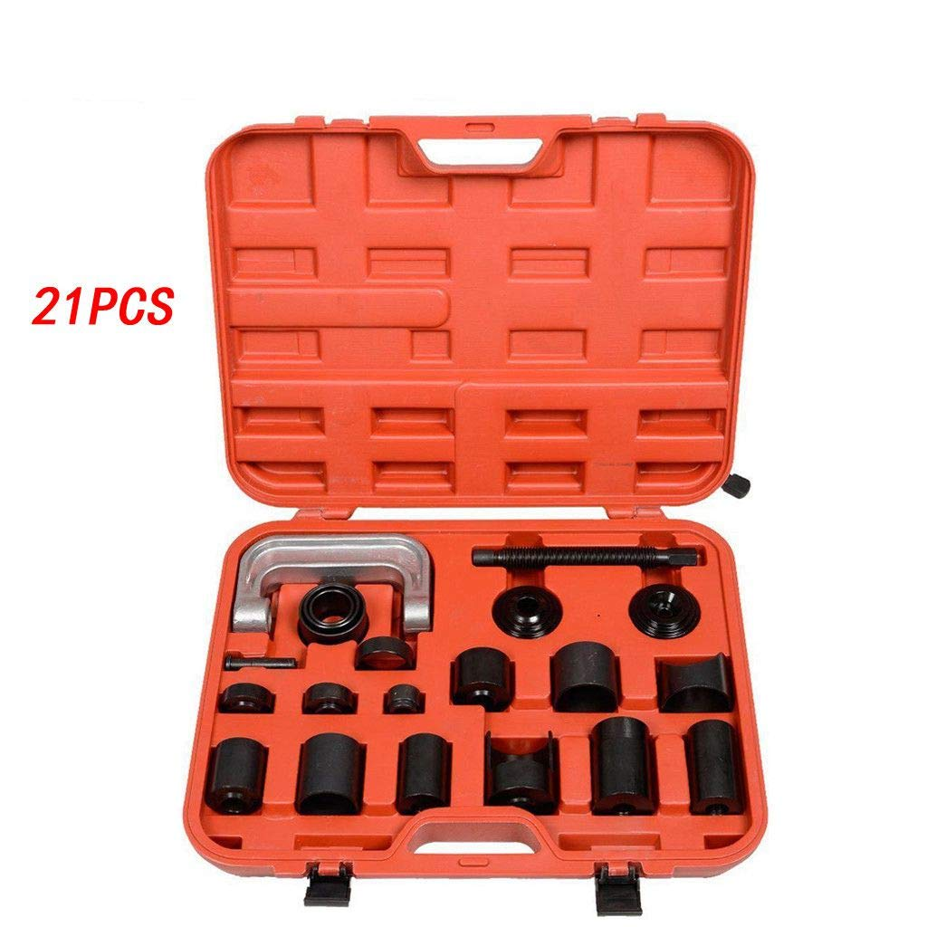Ball Joint Press - 21PCS Ball Joint Auto Repair Tool Service Remover Installer Master Adapter Kit - Upper and Lower Ball Joint Removal Tool - Universal Automotive Mechanic Tool Set (US Stock, Black) by Dacawin-Household