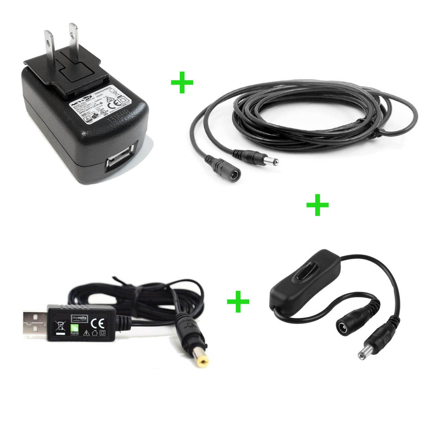 5V Pioneer DDJ-SX DJ system replacement power supply adaptor - US plug - Premium