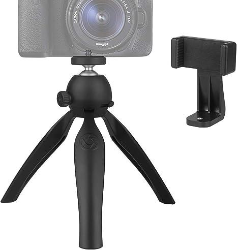 Soeland - Trípode pequeño para cámara Digital DSLR, teléfono móvil ...