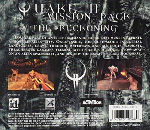 Amazon com: Quake II Mission Pack: The Reckoning (Jewel Case): Inc