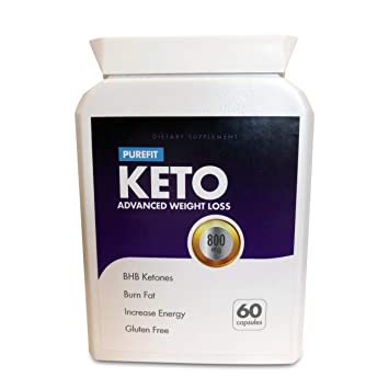 Purefit Keto Advanced Weight Loss 60 Capsules One Month Supply