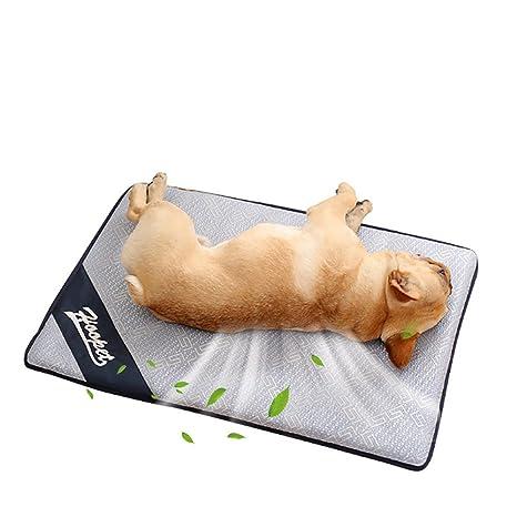 Leegoal Alfombrilla de refrigeración mascotas, para perros y gatos, cómoda, de verano,