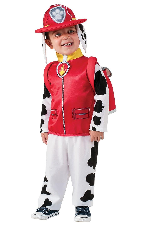 kids halloween costume paw patrol marshall