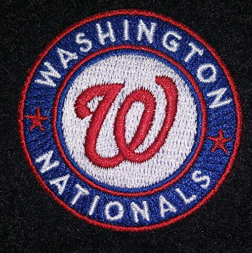 WASHINGTON NATIONALS IRON ON EMBROIDERED PATCH MLB BASEBALL