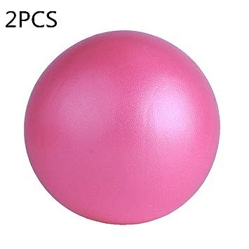 XCBW Bola de Ejercicio mínima de 2 Piezas, Bola de Pilates Barre ...