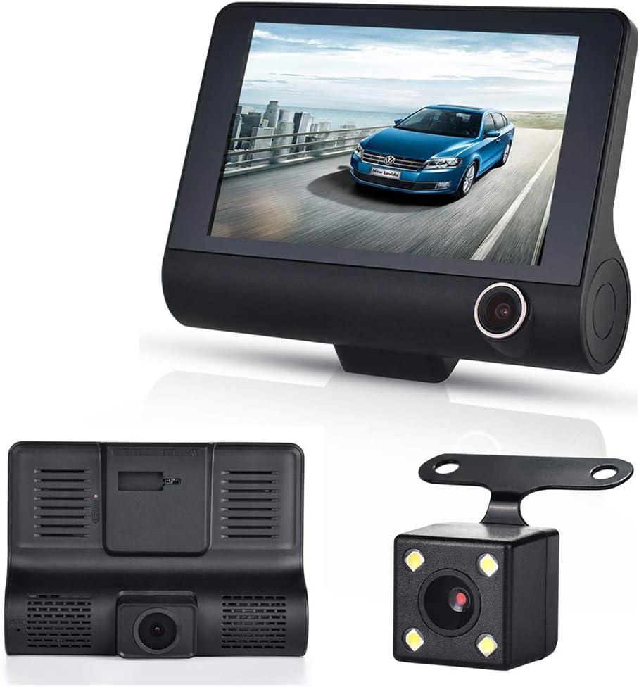 "2/"" TFT HD 120° Dual Camera Car DVR Dash Cam Video Recorder IR Night Vision AP"