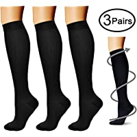 a95450238 Compression Socks (3 Pairs) 15-20 mmHg is Best Athletic   Medical for