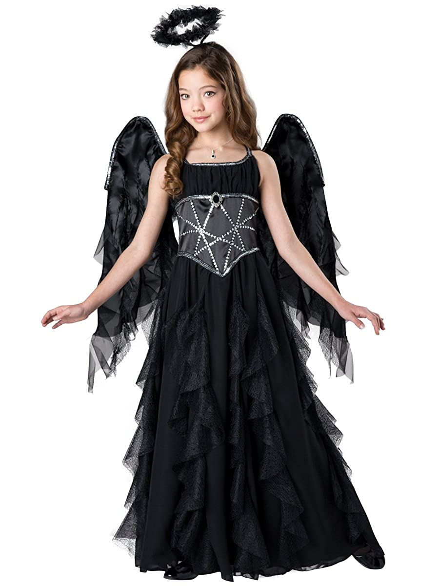 InCharacter Dark Fallen Angel Girls Halloween Costume Costume Costume XL 64d4a2