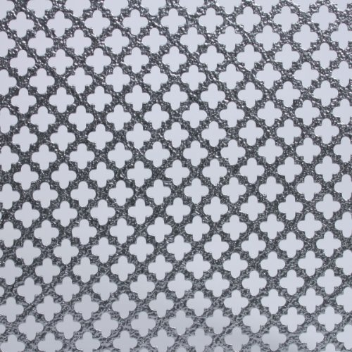 M-D Building Products 57042 2-Feet by 3-Feet .020-Inch Thick Cloverleaf Aluminum Sheet (Metal Panels Perforated)
