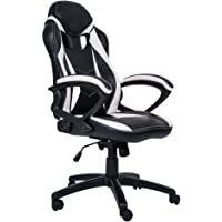 Merax Ergonomic Racing Style PU Leather Gaming Chair for Home and Office
