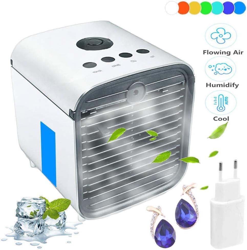 Air Cooler Leakproof Luftkühler Mobile Klimageräte Klimaanlage Ventilator Cool Air Ventilator Luftbefeuchter Und Luftreiniger Für Büro Baumarkt