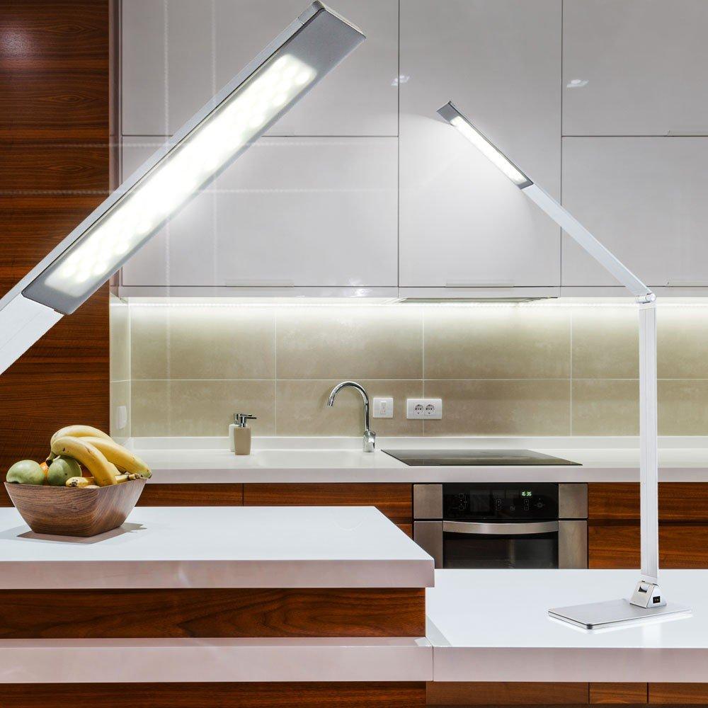 Hochwertige 10W LED Tisch Schreibtisch Lampe Hobbyzimmer Globo ESTELAR 58230A