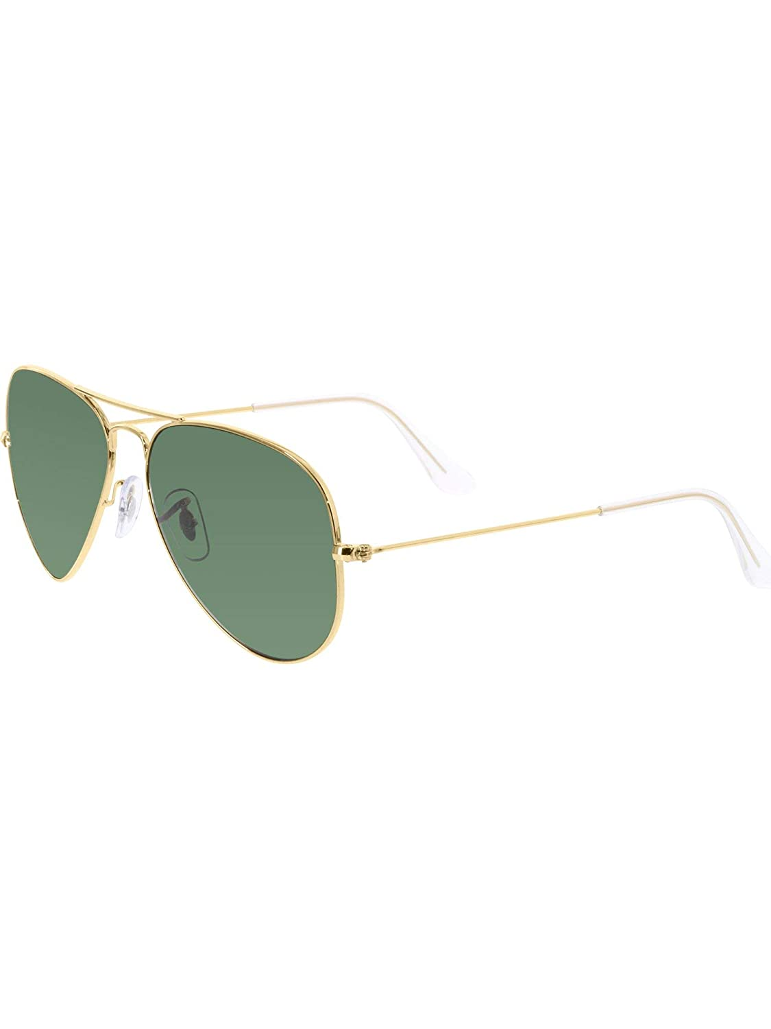 Amazon.com  Ray-Ban RB3025 Aviator Silver Frame   Crystal Grey Gradient  Lens  Clothing d1fb6329a620