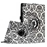 Fintie Apple iPad 2/3/4 Case - 360 Degree Rotating Stand Smart Case Cover for iPad with Retina Display (iPad 4th Generation), iPad 3 & iPad 2 (Automatic Wake/Sleep Feature) - Versailles