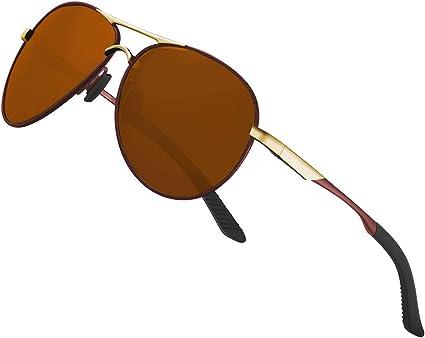 Gafas de sol polarizadas para hombre mujere metal Marco grande/Ciclismo Golf Conducción Pesca Escalada Verano Deportes al aire libre moda Gafas de sol ...