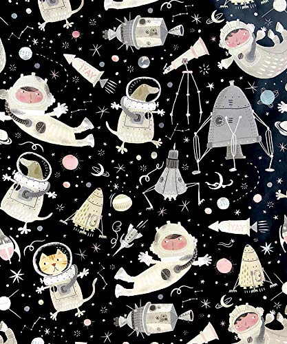 - Galactic Animals Gift Wrapping Paper Roll - 24