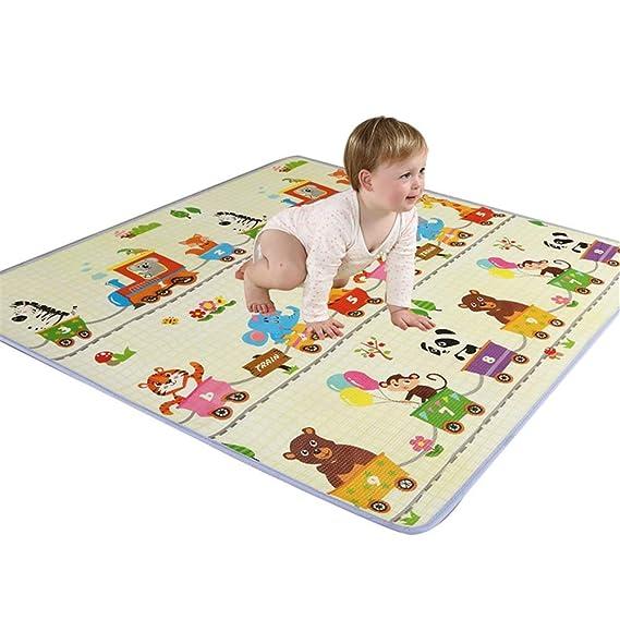 Alfombrilla para gatear Alfombra de juego for bebés Alfombra ...