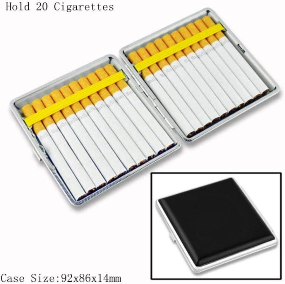 NIAN Caja de Cigarrillos de Fumador, Caja de Cigarrillos clásica ...
