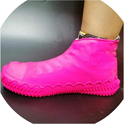 Silicone Waterproof Shoes Cover Reusable Wear-Resistant Anti-Slip Rain Boots