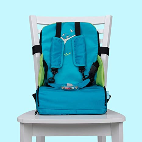 Qinsir Silla de bebé Plegable portátil, Silla de Mesa para ...