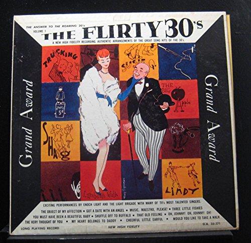 Flirty Light - Enoch Light And The Light Brigade - The Flirty 30's - Lp Vinyl Record