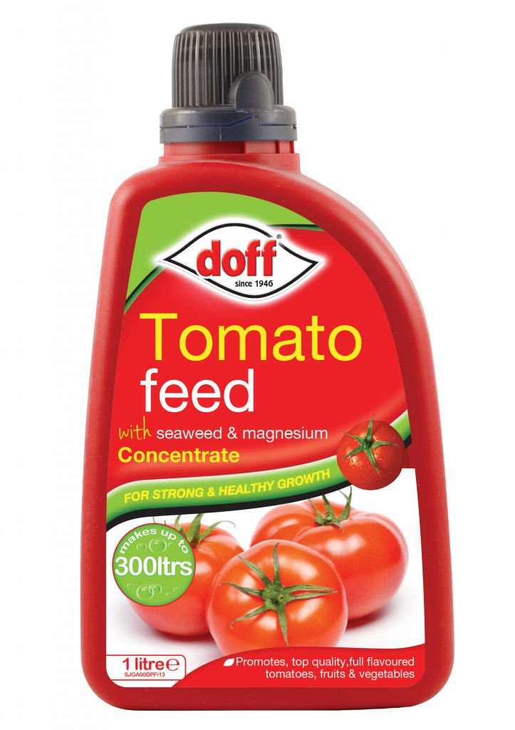 Doff Tomato Feed 1L Tomato Food Garden Vegetable Fruit Feed Indoors Outdoors
