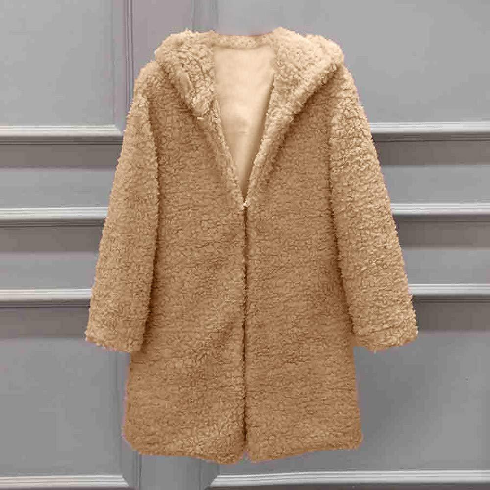 Denim Jacket for Women, Women Autumn Long Sleeve Thick Hooded Open