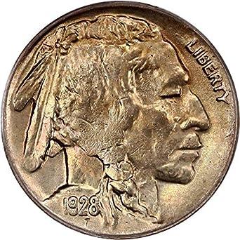 1928 D Buffalo Nickels Nickel MS65 PCGS at Amazon's