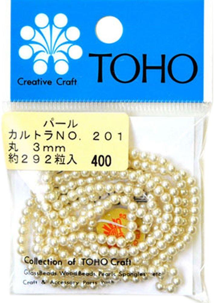 TOHO パールNO.201(カルトラ) 3mm 5Pセット   B005DIPOQE