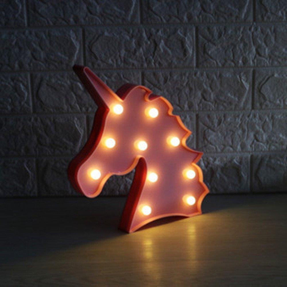 LED Einhorn Nachtlichter