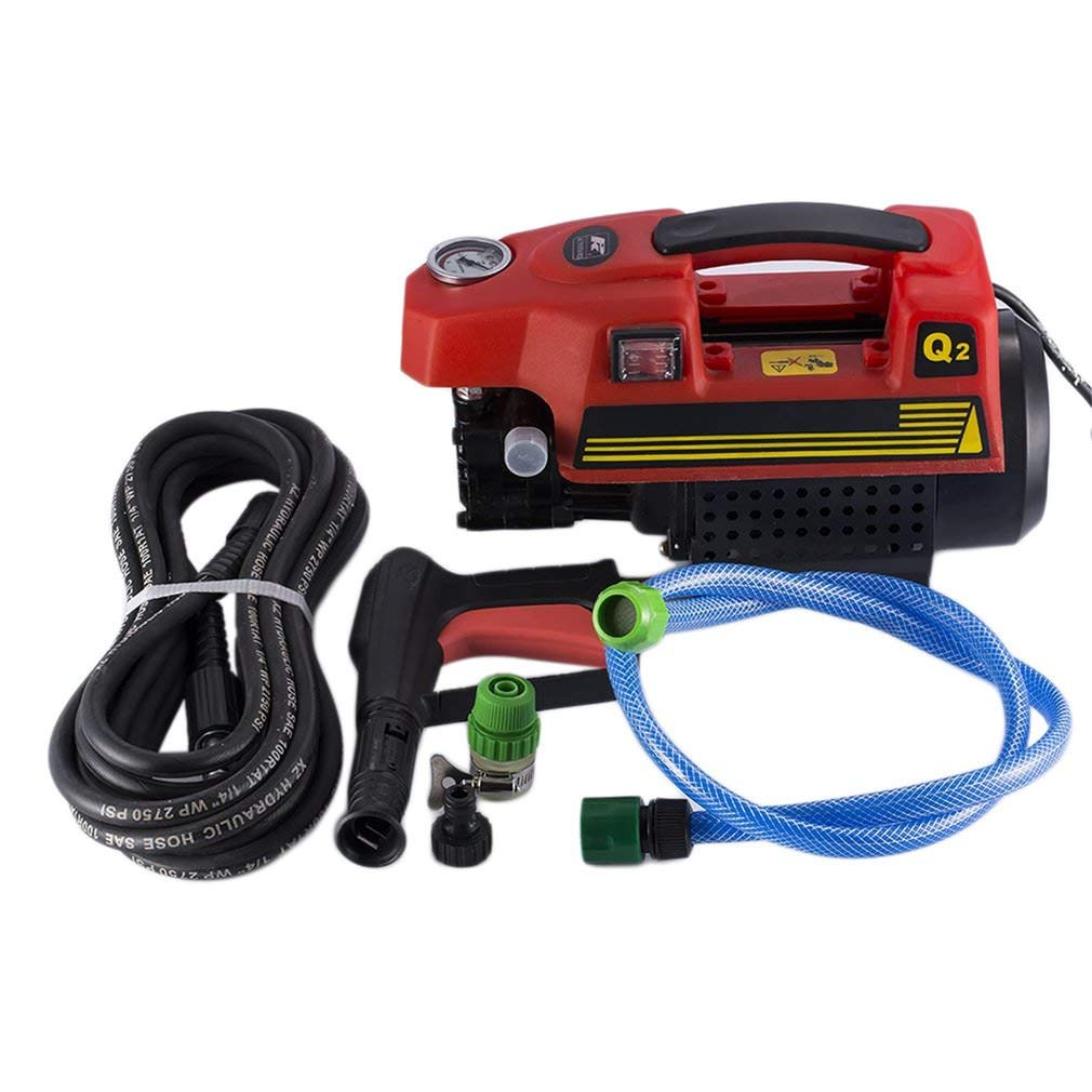 Kath Power Pressure Washer,Portable Electric Power Washer 1500 PSI (Red)