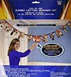 WWEParty Jumbo Add-An-Age 'Happy Birthday' Letter Banner