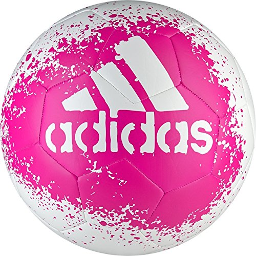 Official White Ball Soccer (adidas Performance X Glider II Soccer Ball, White/Shock Pink/Blue, Size 5)
