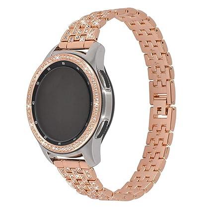 Amazon.com: NOMENI Smart Watch 42/46MM Bezel Ring Adhesive ...