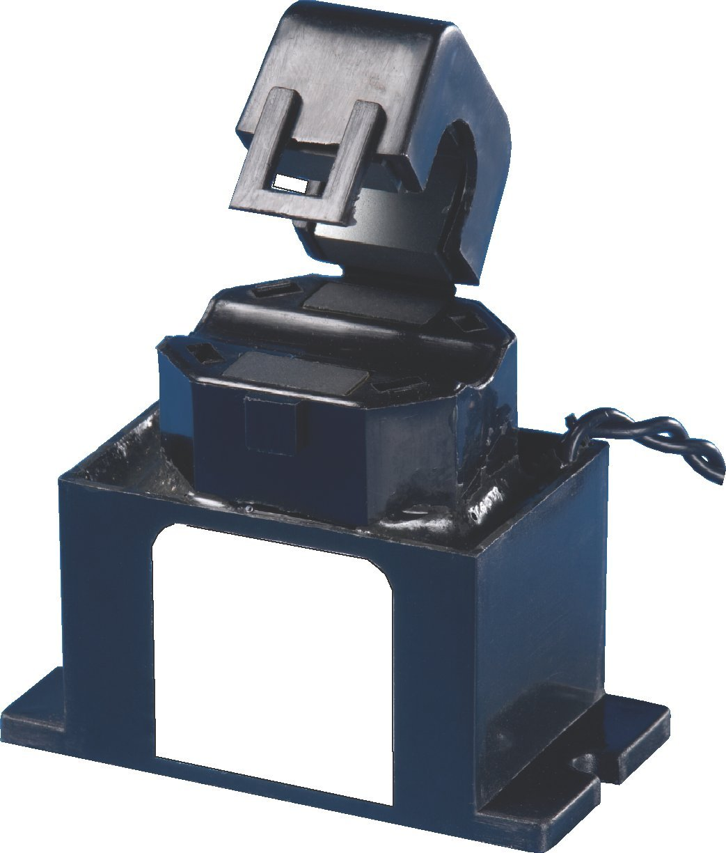CR Magnetics CR9480-ACA-M AC Output Current Switch with Mounting Case, Normally Closed, 240 VAC RMS, 0.49'' Split Core