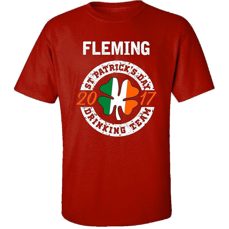 Fleming St Patricks Day 2017 Drinking Team Irish - Adult Shirt