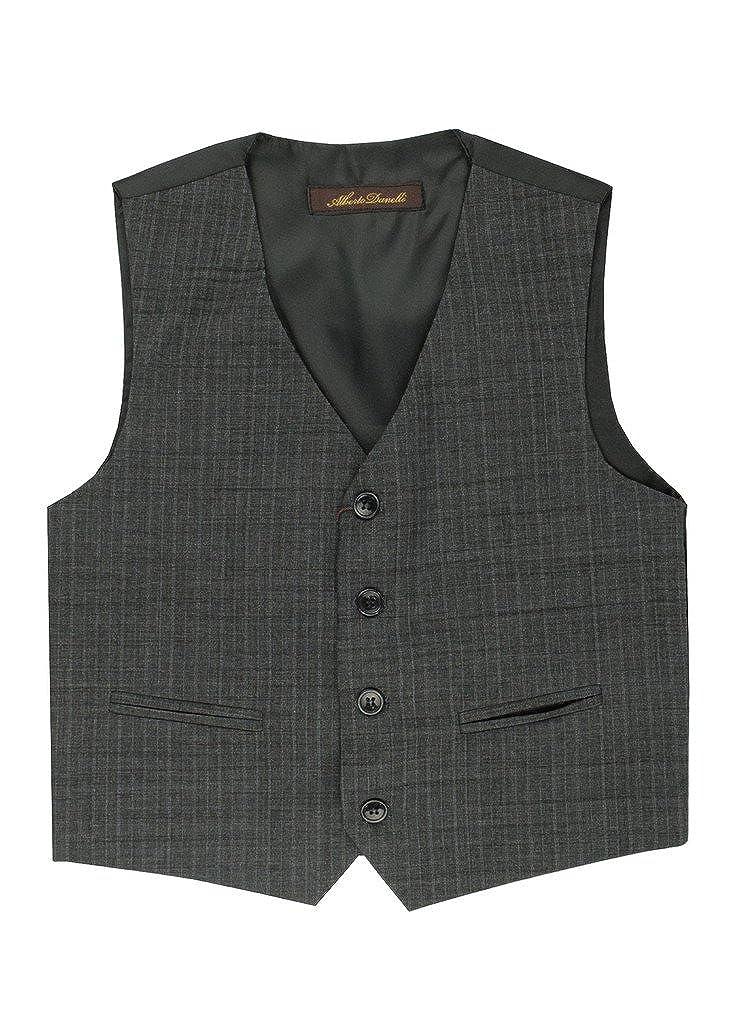 Alberto Danelli Boys 4 Button Formal Vest Suit Set Boys-Vest-Seperate