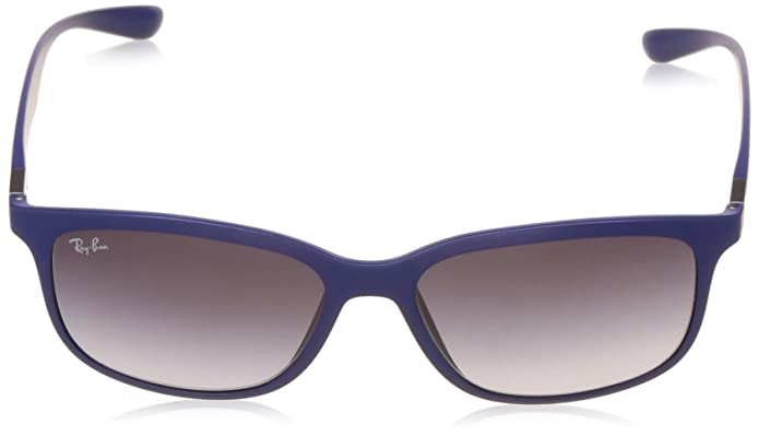 Amazon.com: Ray-Ban RB4215 Sunglasses Matte Dark Blue / Grey Gradient Dark Grey 57mm: Shoes